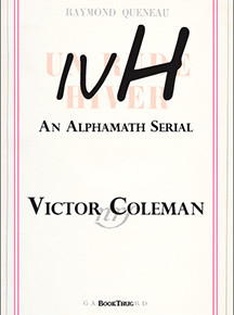 Alex Porco on Victor Coleman's ivH: An Alphamath Serial