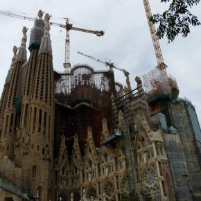 Erin Lyndal Martin: Notes Toward an Essay on the Construction of the Basílica i Temple Expiatori de la Sagrada Família
