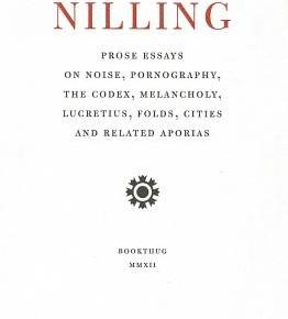 """Reading and Thinking: Lisa Robertson's """"Nilling."""""""