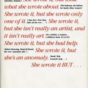 How to Suppress Women's Writing: Joanna Russ